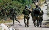Tentara India di Kashmir. Pemerintah India menyerukan gencatan senjata di Kashmir selama Bulan Ramadhan, Kamis (17/5).