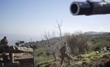 Tentara Israel di dekat perbatasan Israel-Lebanon.