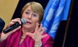 Presiden Cile Michelle Bachelet.
