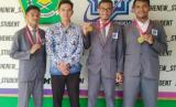 tiga orang siswa MAN IC Kendari menjadi finalis ajang olimpiade matematika internasional di Hongkong