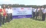 Tim MERC meninjau lokasi  RSI Myanmar