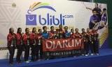 Tim Putri U-17 PB Djarum Kudus menjadi juara Superliga Junior 2018