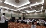 Tim Relawan Bersatu menggelar tasyakkuran atas kemenangan Jokowi dan KH Ma'ruf Amin