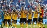 Timnas Belgia berhasil meraih juara ketiga Piala Dunia 2018, setelah mengalahkan Inggris dengan skor 2-0.