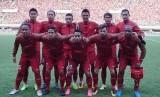 Timnas Indonesia akan berhadapan dengan Guyana dalam laga persahabatan.