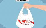 Tingkat konsumsi plastik di Indonesia sebanyak 20 kilogram per kapita per tahun.