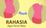 Tips agar perut rata