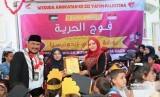 TK Nurani Indonesia di Gaza, Palestina menggelar wisuda angkatan ketiga.