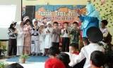 TKIT Nurul Fikri menggelar kegiatan puncak tema profesi, Jumat (19/10).