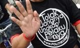 Tolak politik uang.   (ilustrasi)