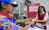 Transaksi pembayaran Bukalapak.com di Indomaret