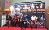 Turkistan Timur yang mayoritas warganya memiliki etnis Uighur  memberikan bantuan dana kemanusiaan bagi korban tsunami di Banten dan  Lampung.