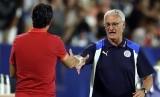 Unai Emery (kiri) dan Claudio Ranieri (kanan)
