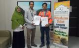 UPZ karyawan Semen Andalas tanda tangani kerja sama dengan Rumah Zakat.