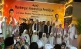 Ustaz Abdul Somad (UAS) saat melakukan kunjungan dan bertausiyah di Sekolah Islam Indonesia di Jeddah.