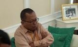 Wakil Ketua Komisi III Arsul Sani di ruangannya, DPR RI, Jakarta, Selasa (22/1).