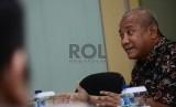 (Ilustrasi) Ketua PATUHI Artha Hanif berbincang bersama awak redaksi Harian Umum REPUBLIKA di Jakarta Selatan, Rabu (28/10).  (Republika/Raisan Al Farisi)