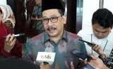 Wakil Ketua Umum MUI, Zainut Tauhid Sa'adi di sela-sela seminar nasional penanggulangan bahaya radikalisme dan ekstremisme di Indonesia pada Rabu (3/10) di Hotel JS Luwansa, Jakarta.
