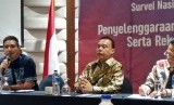 Wakil Ketua Umum Partai Gerindra, Sufmi Dasco Ahmad (tengah).