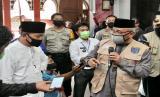 -Wali Kota Depok, Mohammad Idris meninjau persiapan penerapan prosedur standar new normal di beberapa masjid, gereja dan Mal di Kota Depok, Kamis (4/6).