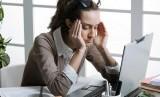 Wanita Stres (Ilustrasi)