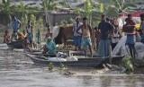 Banjir di Assam India. (Dok)