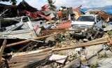 Kerusakan akibat gempa di Sigi, Palu (ilustrasi)