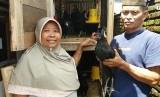 Warga penerima bantuan ayam kampung unggulan Balitbangtan (KUB)