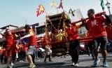 [ilustrasi] Warga keturunan Tionghoa merayakan Cap Go Meh.