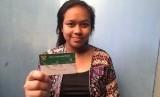 Winda Setianingsih (21 tahun), Peserta BPJS Kesehatan dengan nomor kartu 0000506301491.