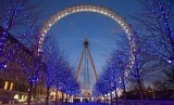 London Eye salah satu ikon wisata di Inggris (ilustrasi). Ekonomi Inggris diprediksi menyusut lebih dari prediksi.