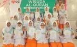 Wisuda Tahfiz Alquran SMP Juara Pekanbaru (Ilustrasi)