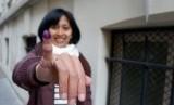Yus Mei, WNI yang menyalurkan suaranya saat Pemilu 2019 di Paris