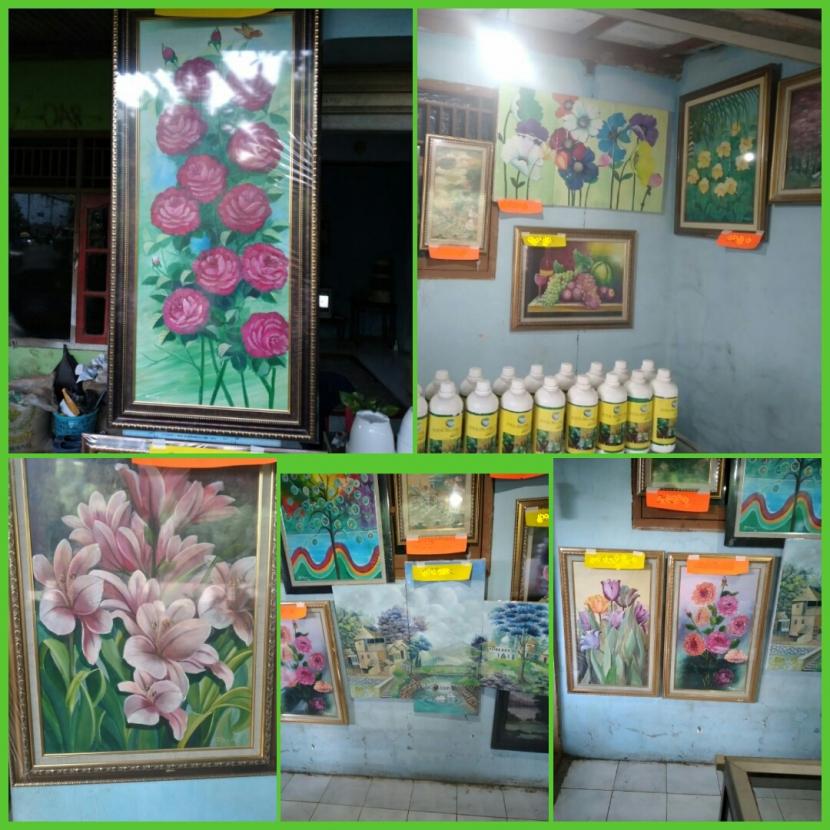 Dokpri. Galeri Rumah Lukis, Jl. Raya Mampir, Cileungsi