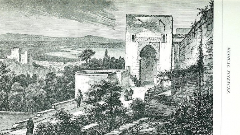 Ilustrasi pengobatan spiritual di abad pertengahan. Foto: Wikimedia